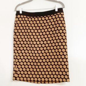 Talbot's Polka Dot Pencil Skirt Size 8P